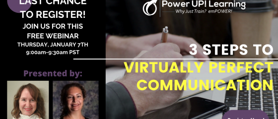 Virtually Perfect Communication Webinar